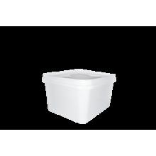 Пластмасова кутия каре - 0.500л
