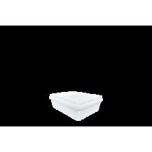 Пластмасова кутия каре - 0.250л