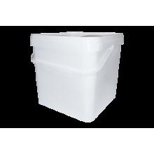 Пластмасова квадратна кофа - 10л